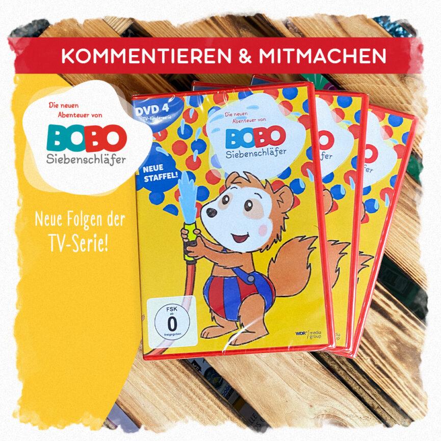 Performance Marketing Ad Creative Bobo Siebenschläfer Gewinnspielbild