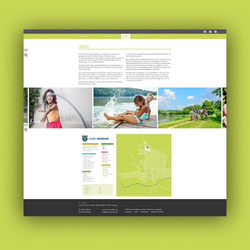 Dorotheenwiese Website Desktop