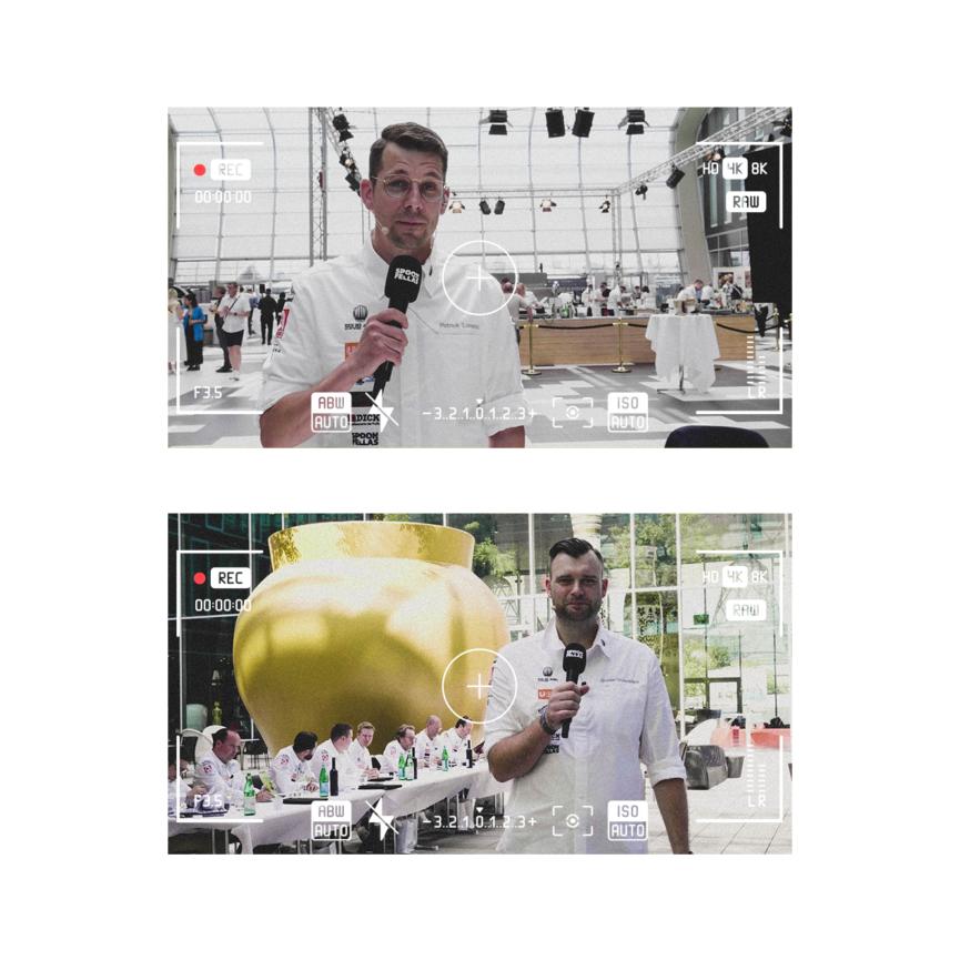 Spoon Fellas Live-Stream Koch des Jahres Bonn Kameraansicht
