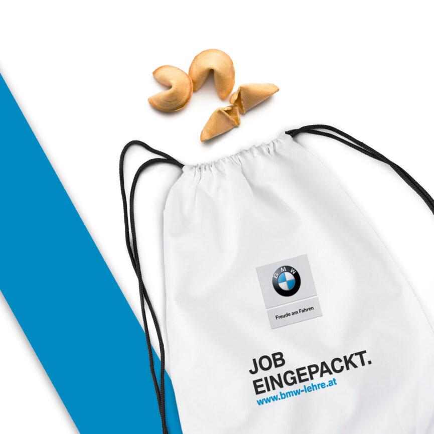 BMW Stoffbeutel Design