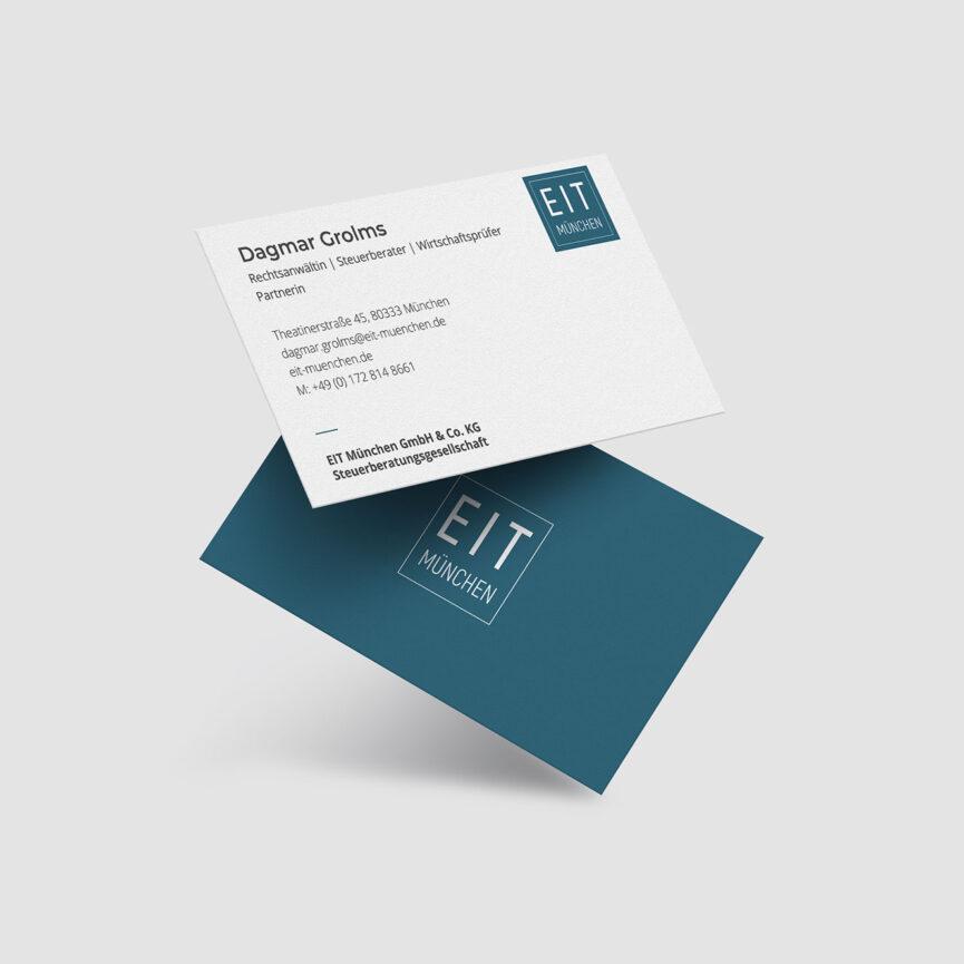 EIT Muenchen Visitenkarte