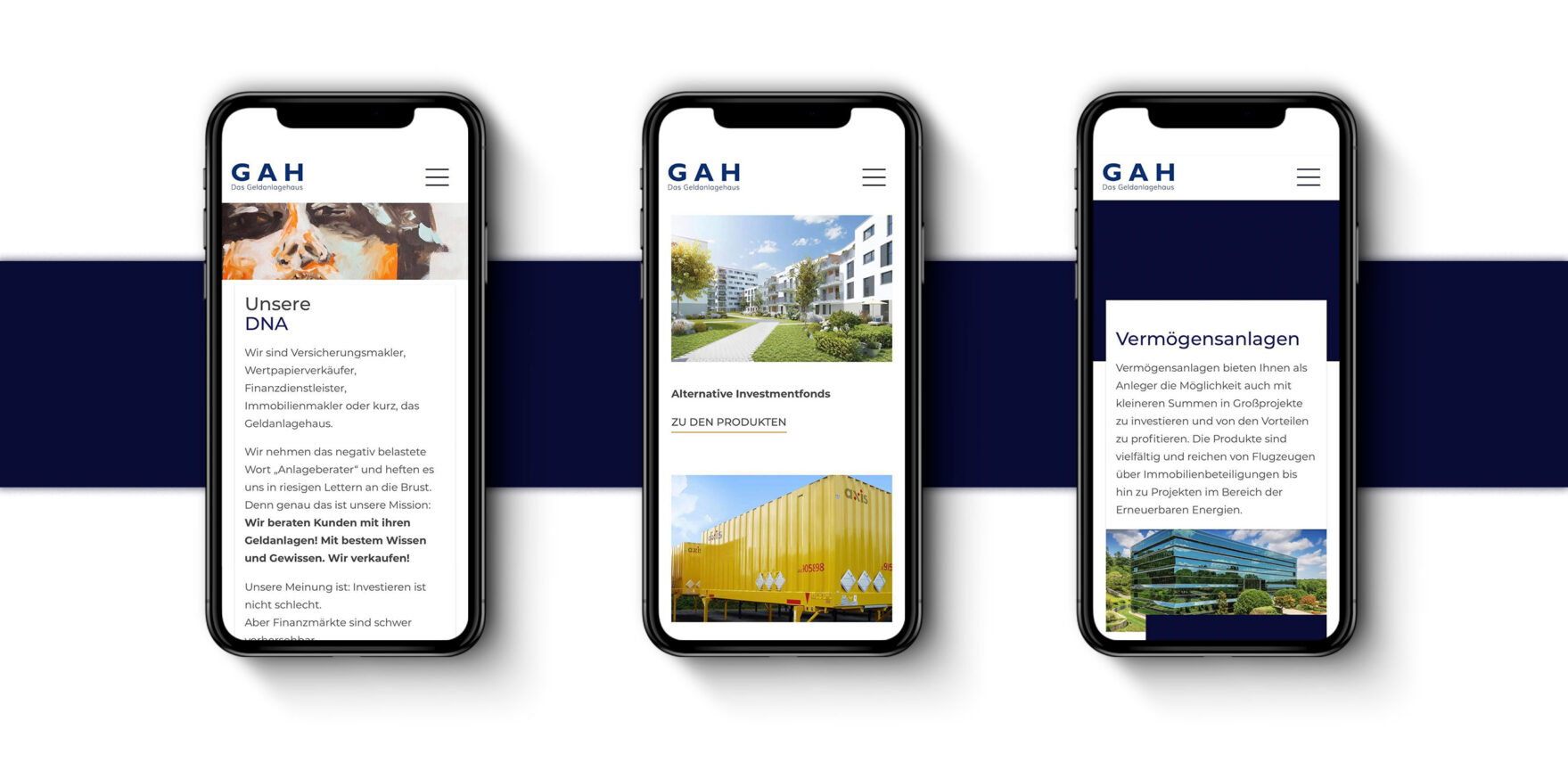 Mobil Website, Repsonsive Design