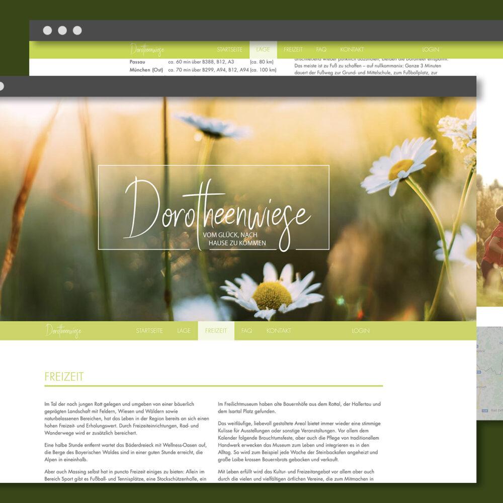 Dorotheenwiese Website