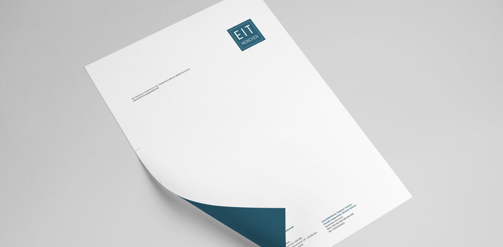 EIT Muechen Briefpapier