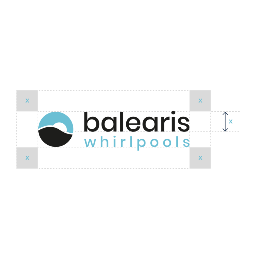 balearis Whirlpools Namensgebung und Branding Entwicklung Schriftzug