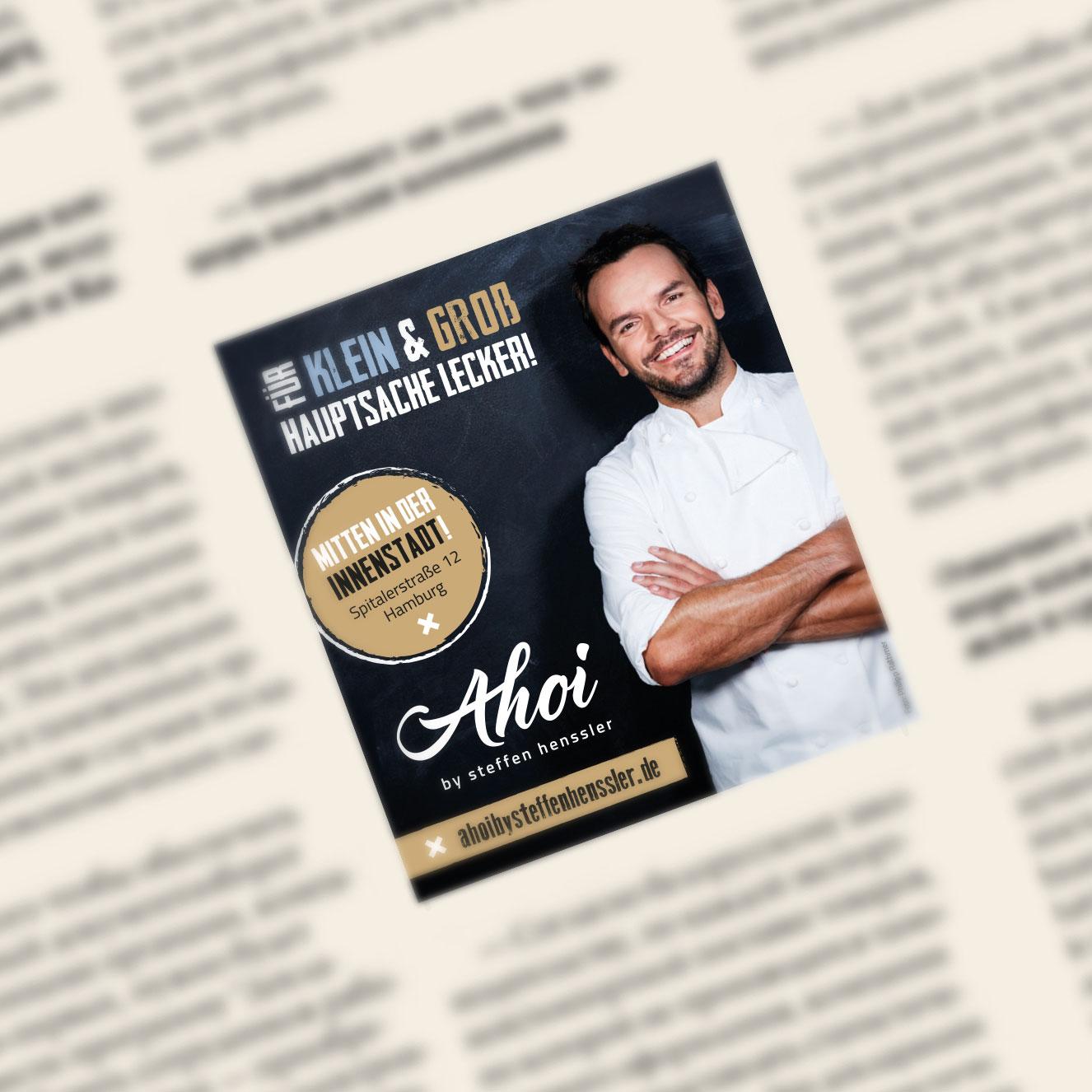 Henssler Gastro Ahoi Print