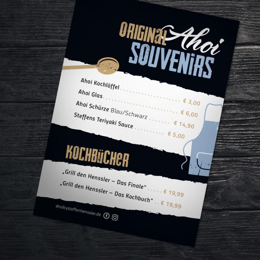 Special Karte Ahoi by Steffen Henssler Merch