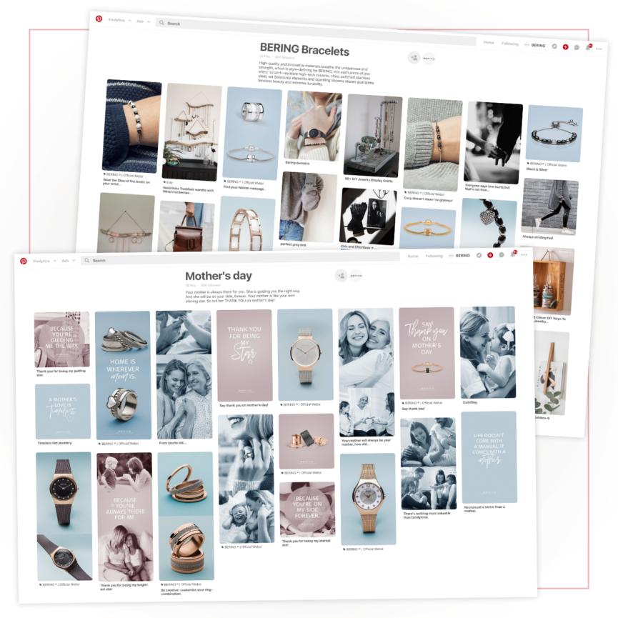 BERING Pinterest Boards