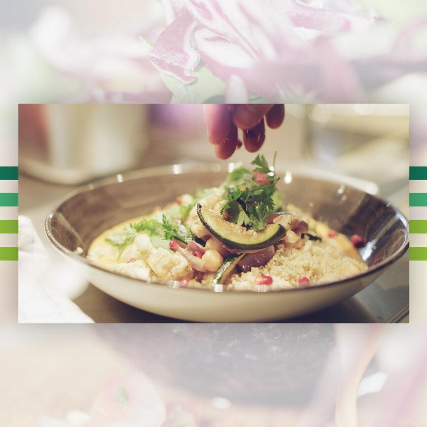 Zubereitung von einem Gericht aus dem Imagefilm fuer das Restaurant KINNELOA