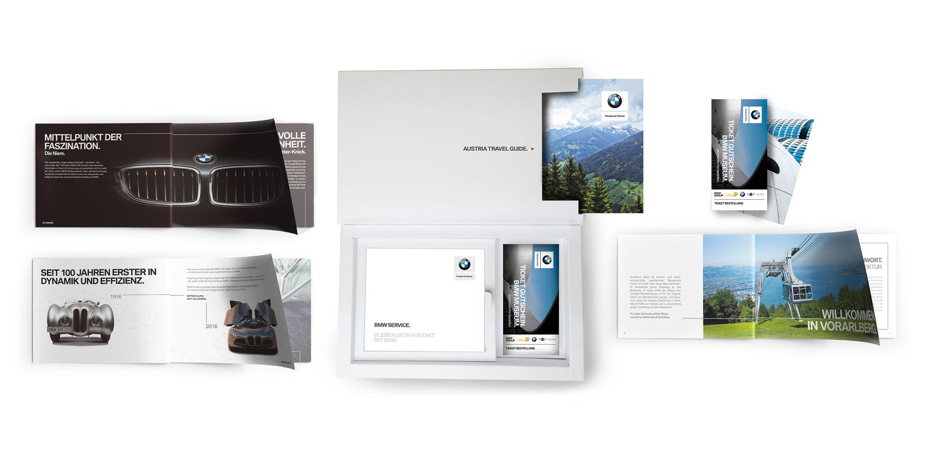 BMW Austria Welcome Package