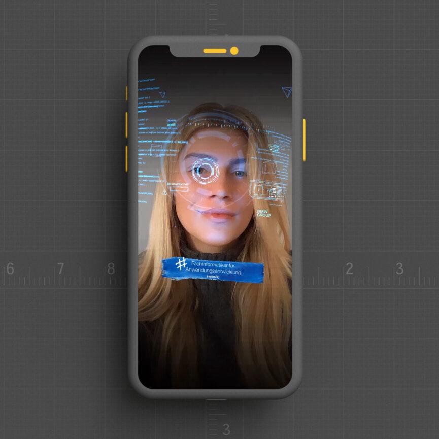 BMW Instagram Facefilter Fachinformatiker