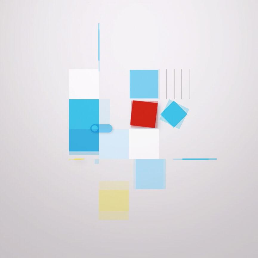 Ausschnitt Animation Wort-Bild-Marke Bayerisches Staatsministerium für Digitales