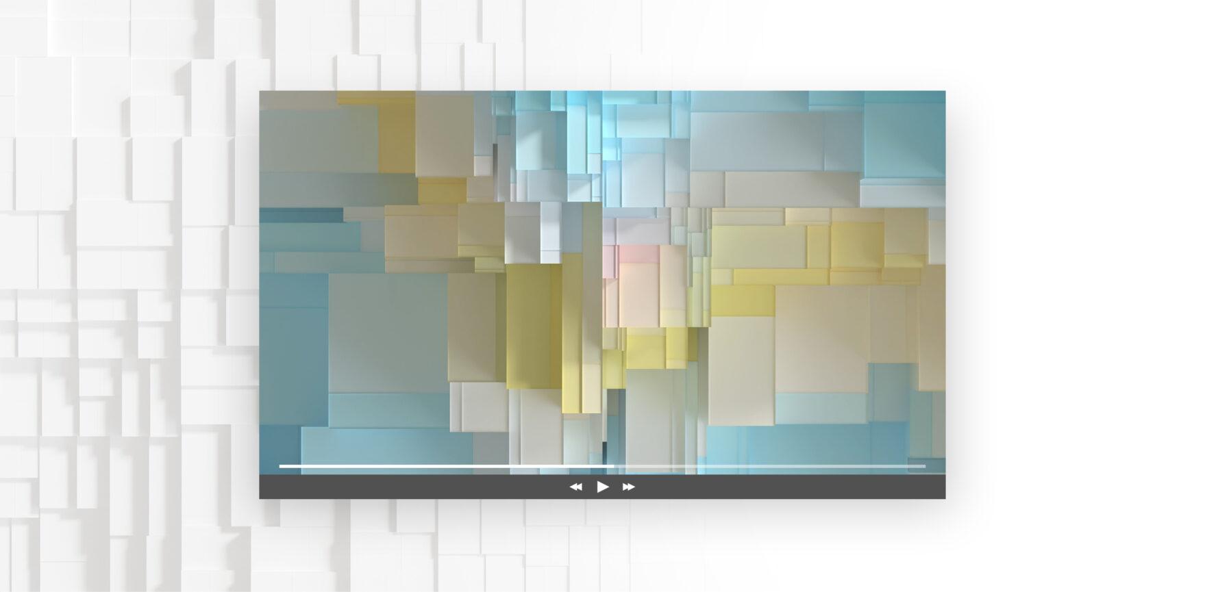 Ansicht Desktop Bayerisches Staatsministerium für Digitales 3D-Animation für Konferenzen