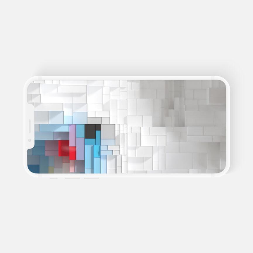 Ansicht Mobiles Endgerät Bayerisches Staatsministerium für Digitales 3D-Animation für Konferenzen