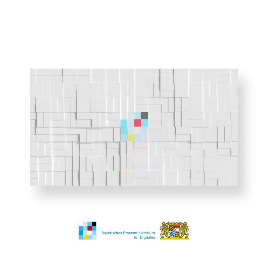 Vorschaubild Bayerisches Staatsministerium für Digitales 3D-Animation für Konferenzen