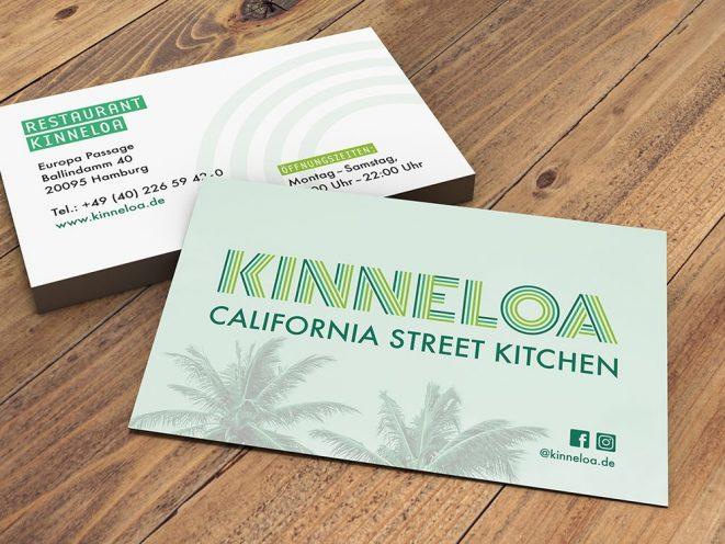 Print Visitenkarten KINNELOA