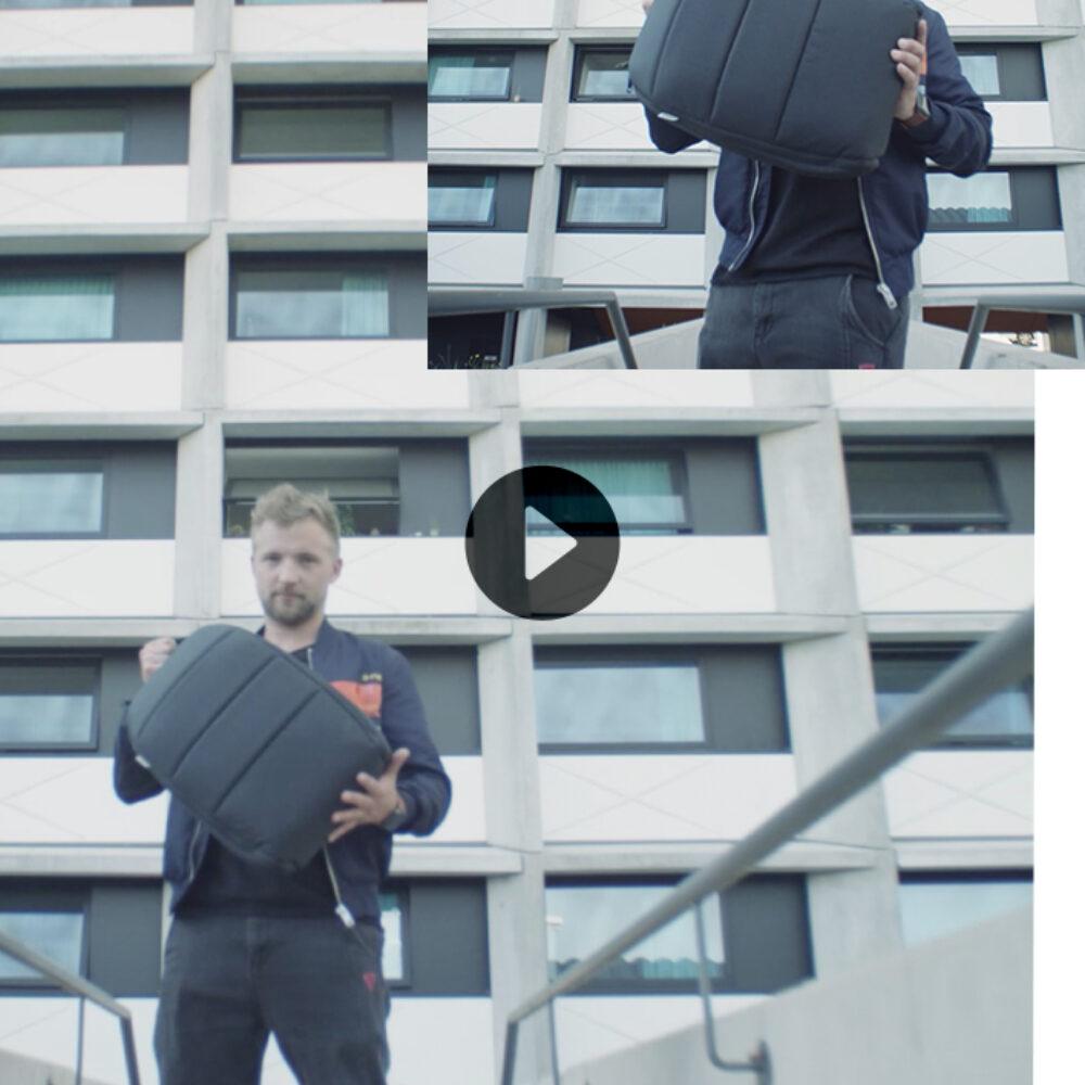 Beitragsbild Video izzy Bag mit Gründer