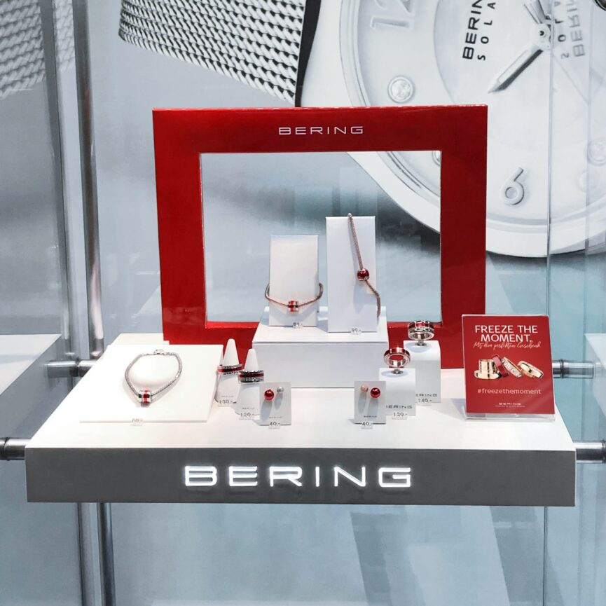 BERING Valentinstag Kampagne POS-Placement