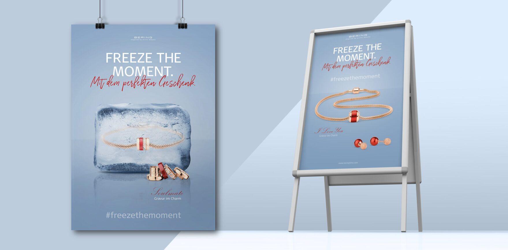 BERING Valentinstag-Kampagne Print