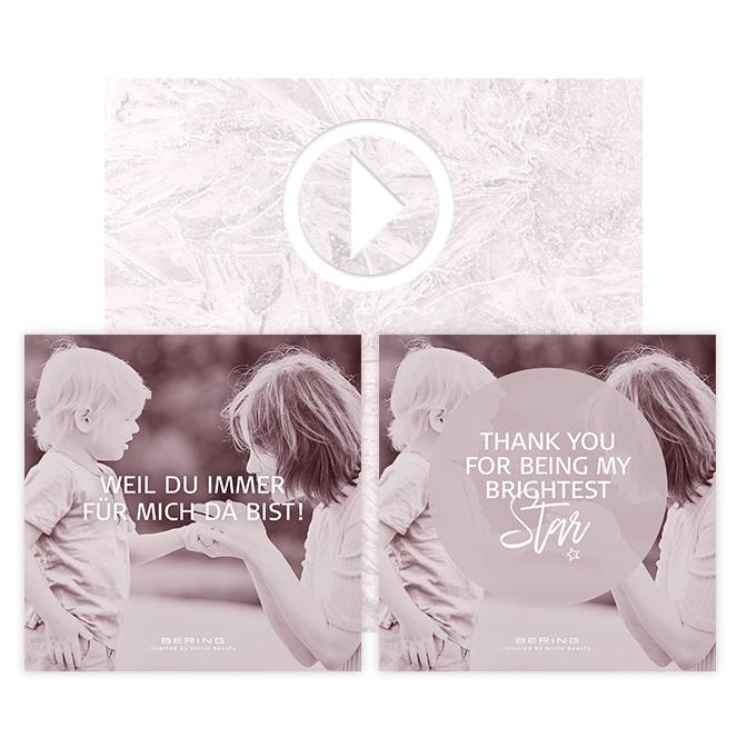 Motiv BERING Muttertags-Kampagne: Brightest Star