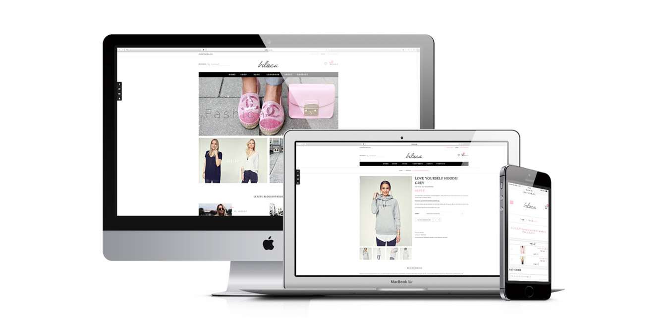 Biluca Website