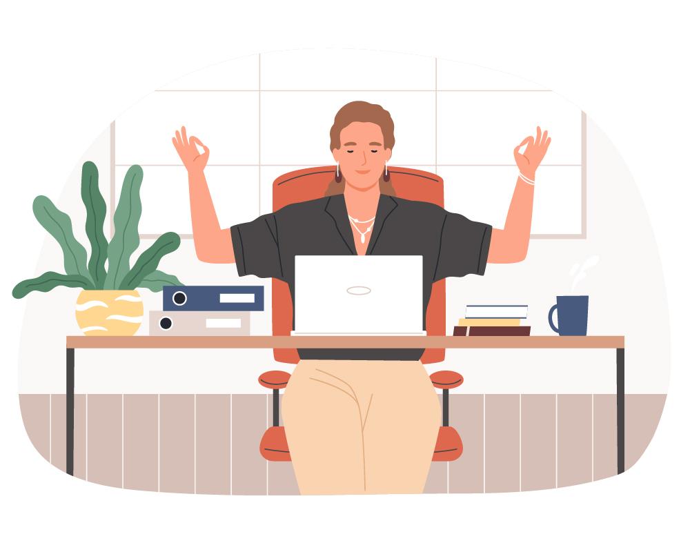 Icon ToDo am Schreibtisch