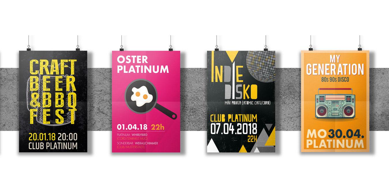 ClubPlatinum Plakate1