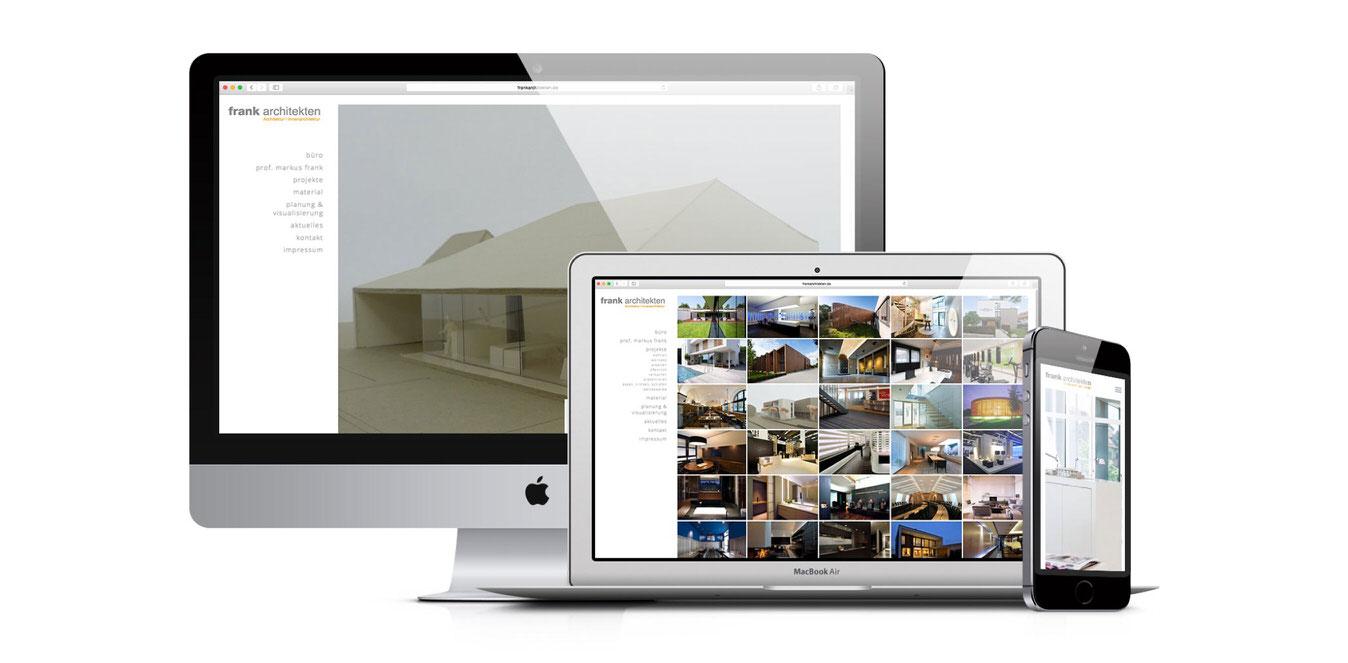 FrankArchitekten Website