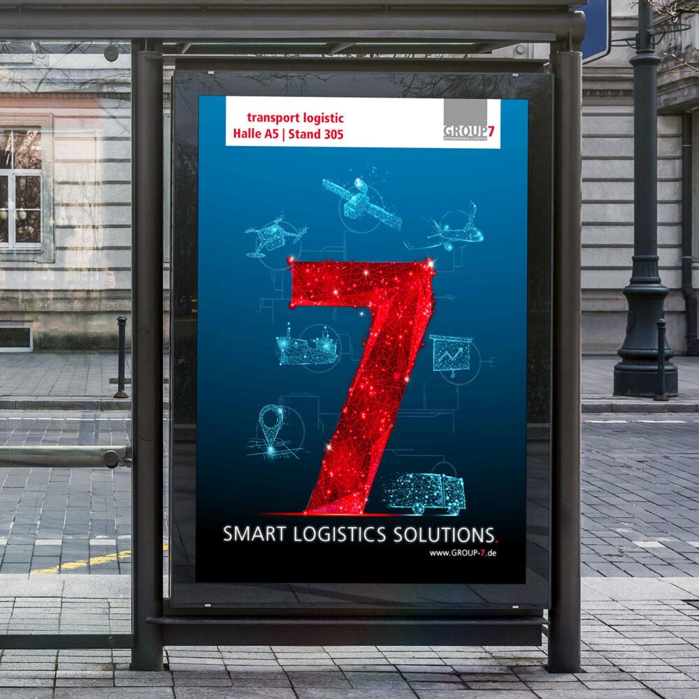 Key Visual Group 7 OOH Werbung Plakat