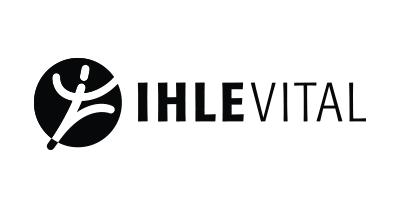Logo Ihle Vital schwarzweiß