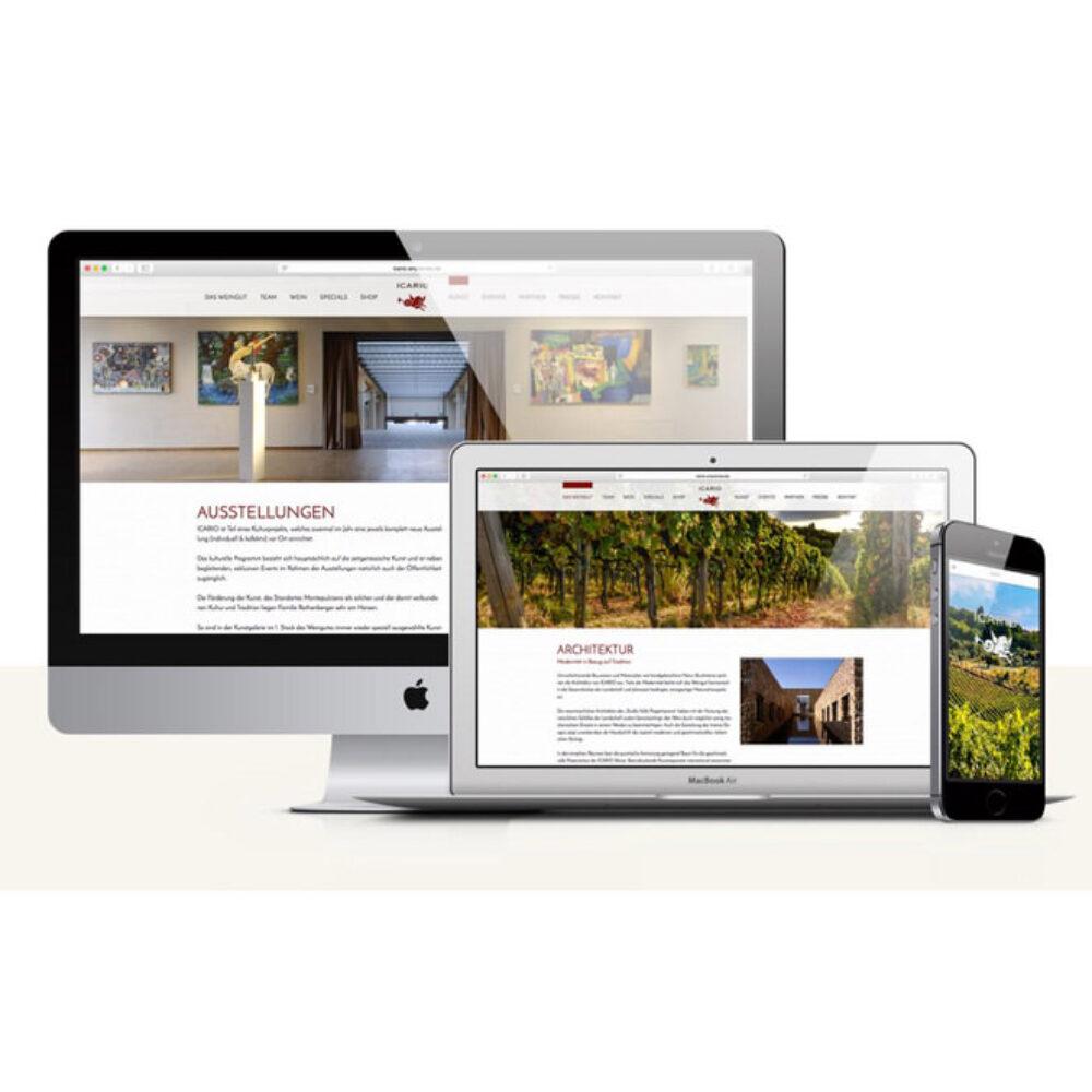 Icario Website