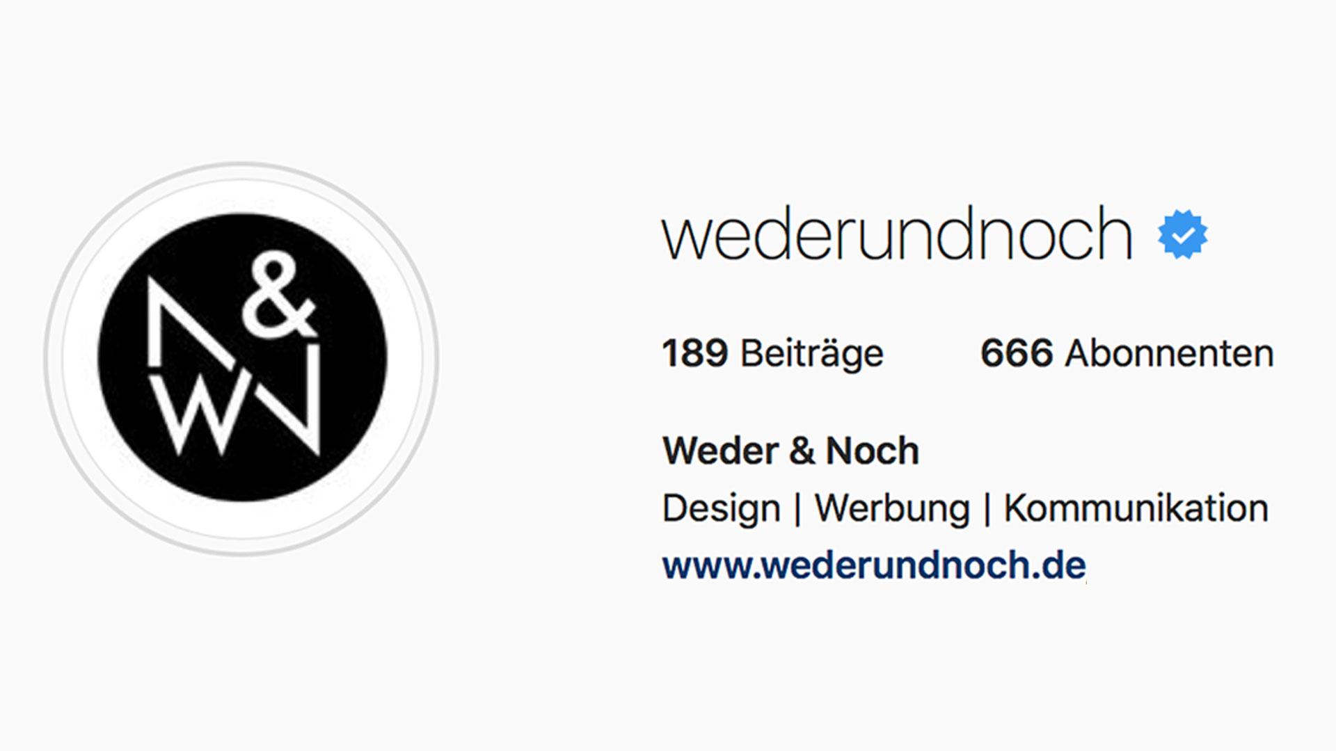 Social Media Update Instagram Verifizierung