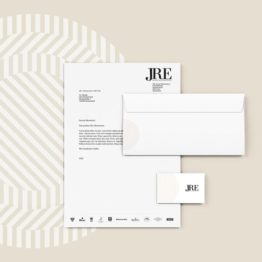 JRE Corporate Design Print Geschaeftsaustattung