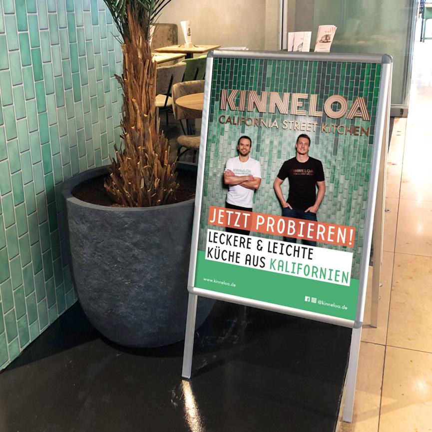 Kinneloa Plakat Stopper Eroeffnung