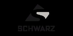Schwarz weiß Logo der Malerei Schwarz