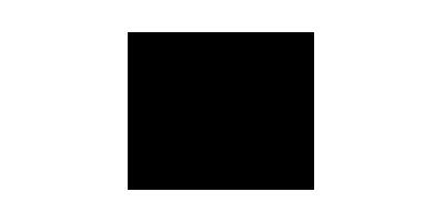 Farbloses Logo von Icario mit fliegendem Pferd