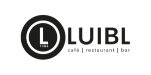 Logo des Luibl - cafe restaurant und bar farblos