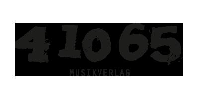 Logo des 41065 Musikverlags farblos