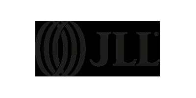 Schwarzweiß Logo von JLL