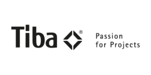 Logo der Firma Tiba Passion for Projects