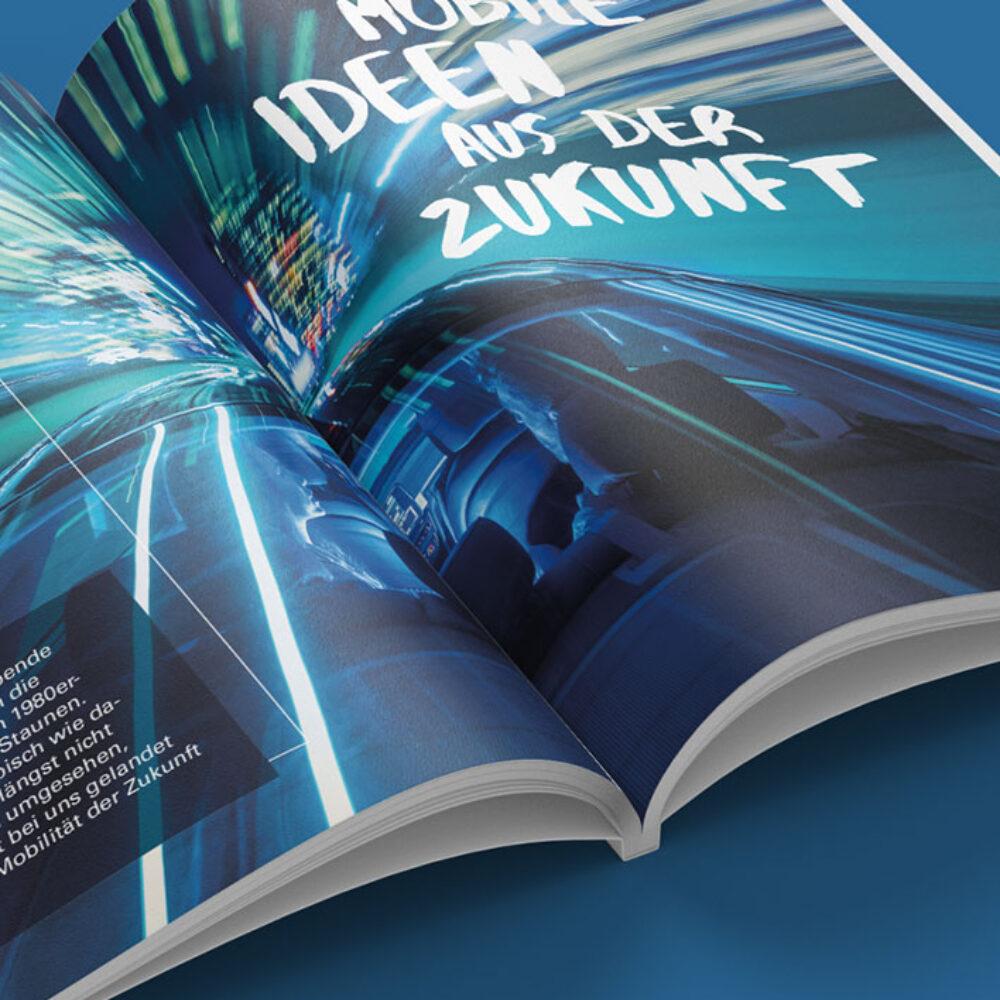 Porsche Bank Kundenmagazin Titelstory