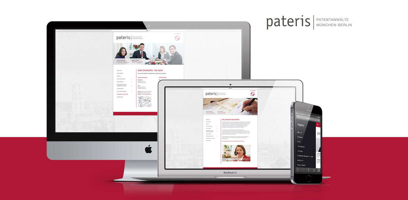 Pateris Website