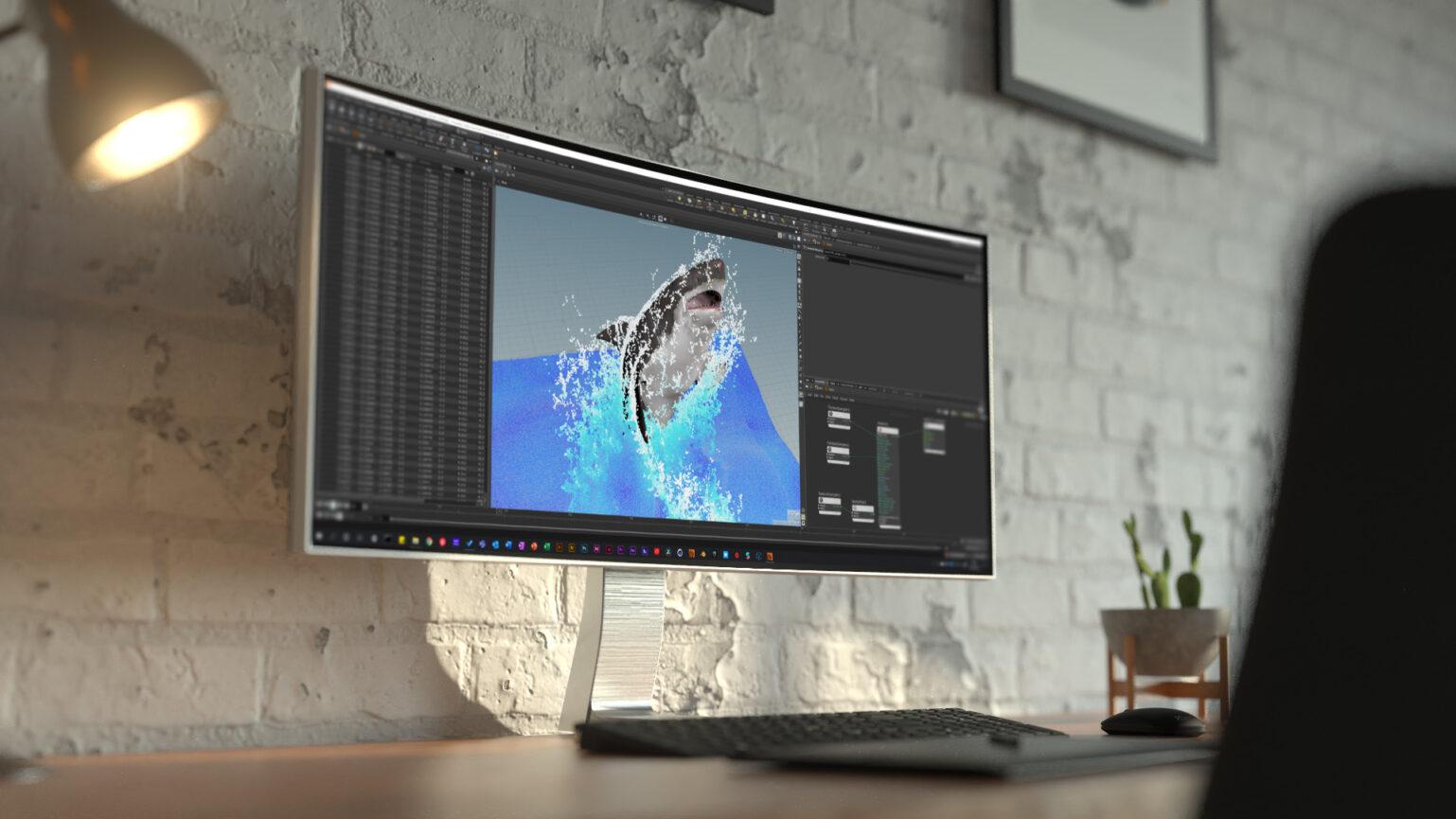TV Werbung Alle gegen Einen Motion Design Hai