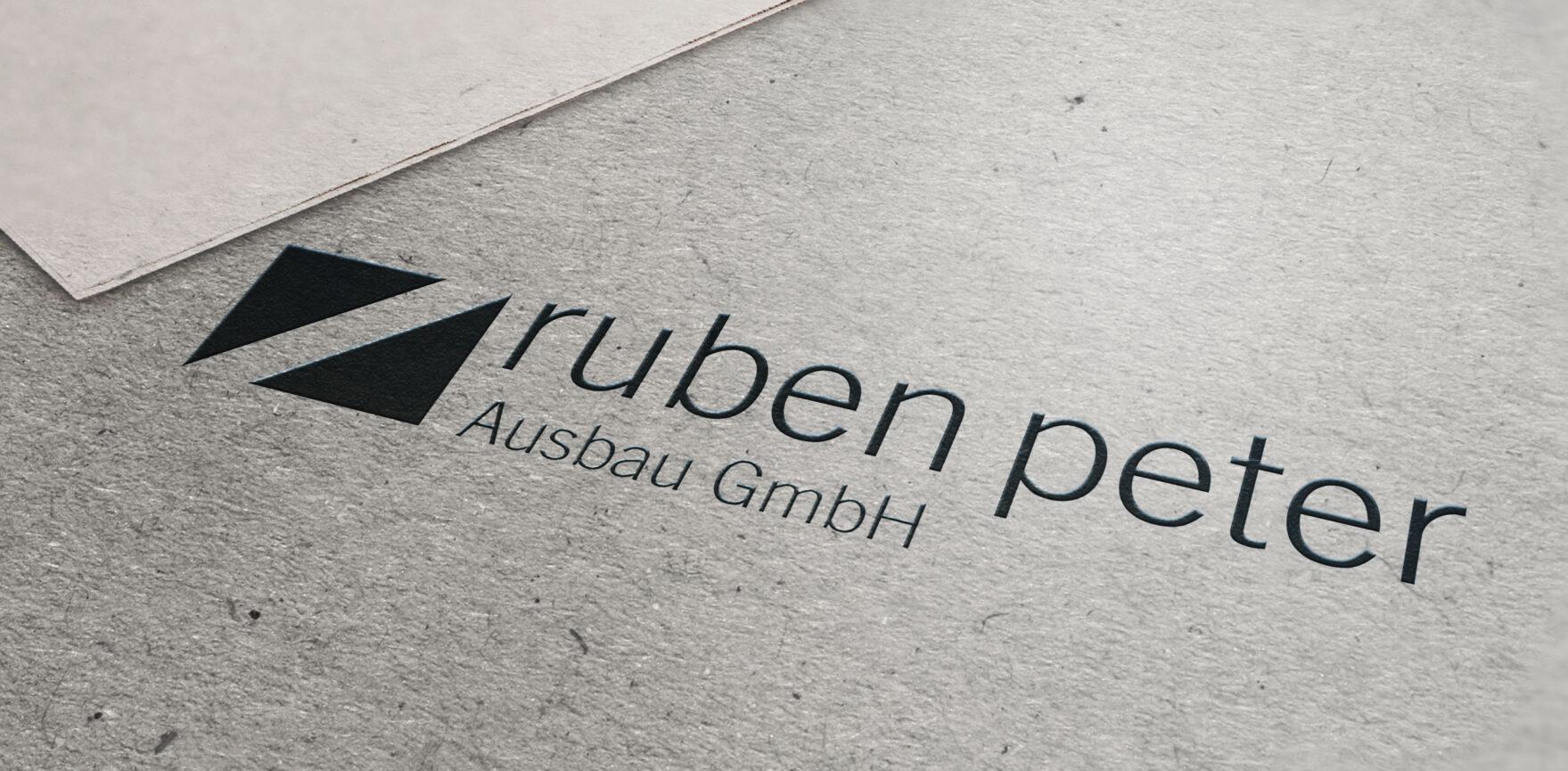 Logo Redesign Ruben Peter