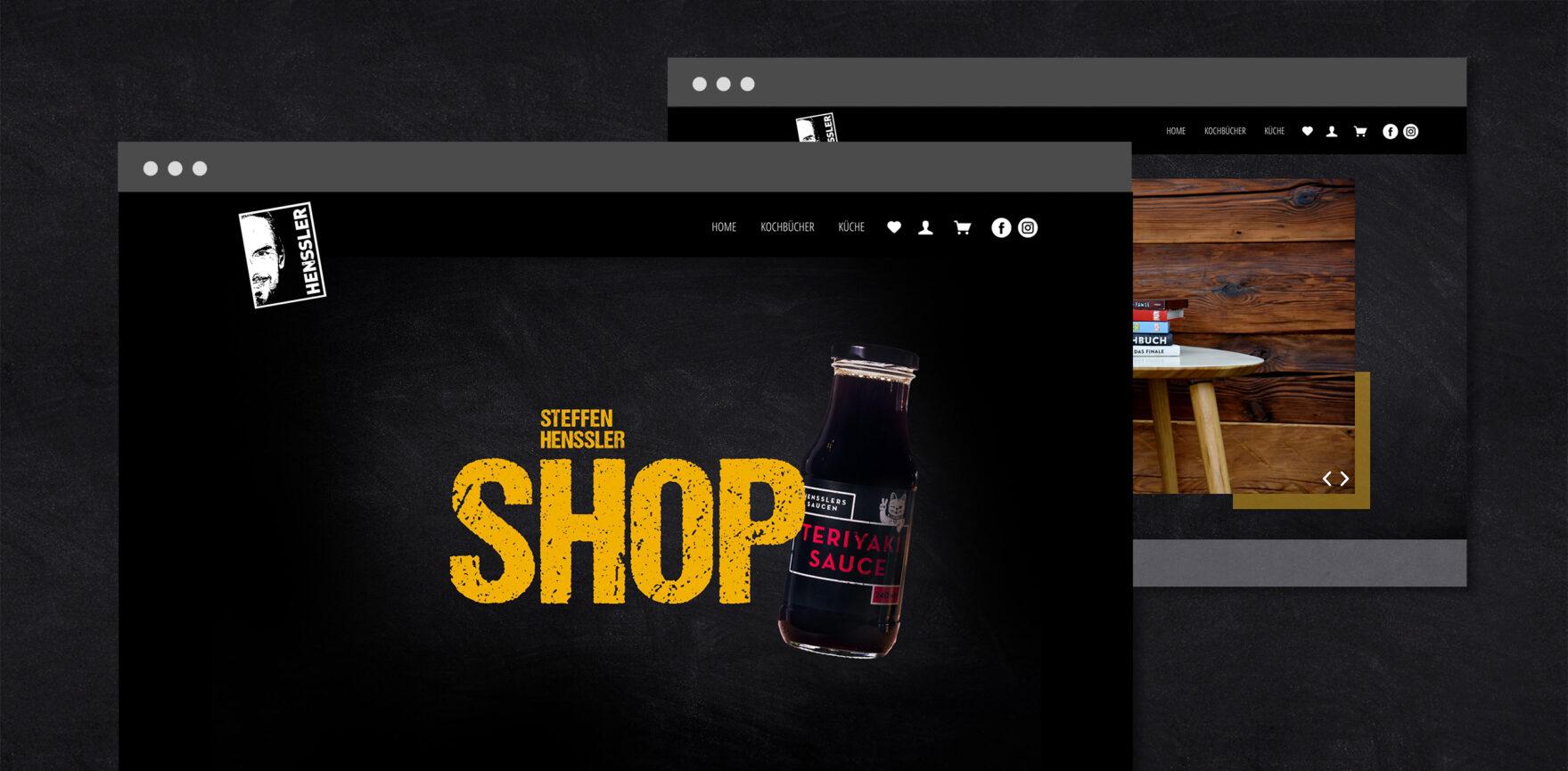 Home Site Onlineshop inklusive Steffen Henssler Terijaki Sosse