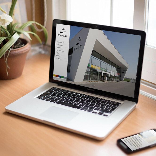 Schwarz gmbh Website relaunch