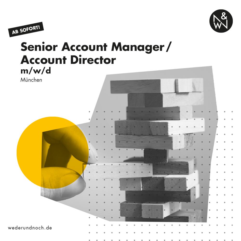 Bild für Jobbeschreibung Senior Account Manager
