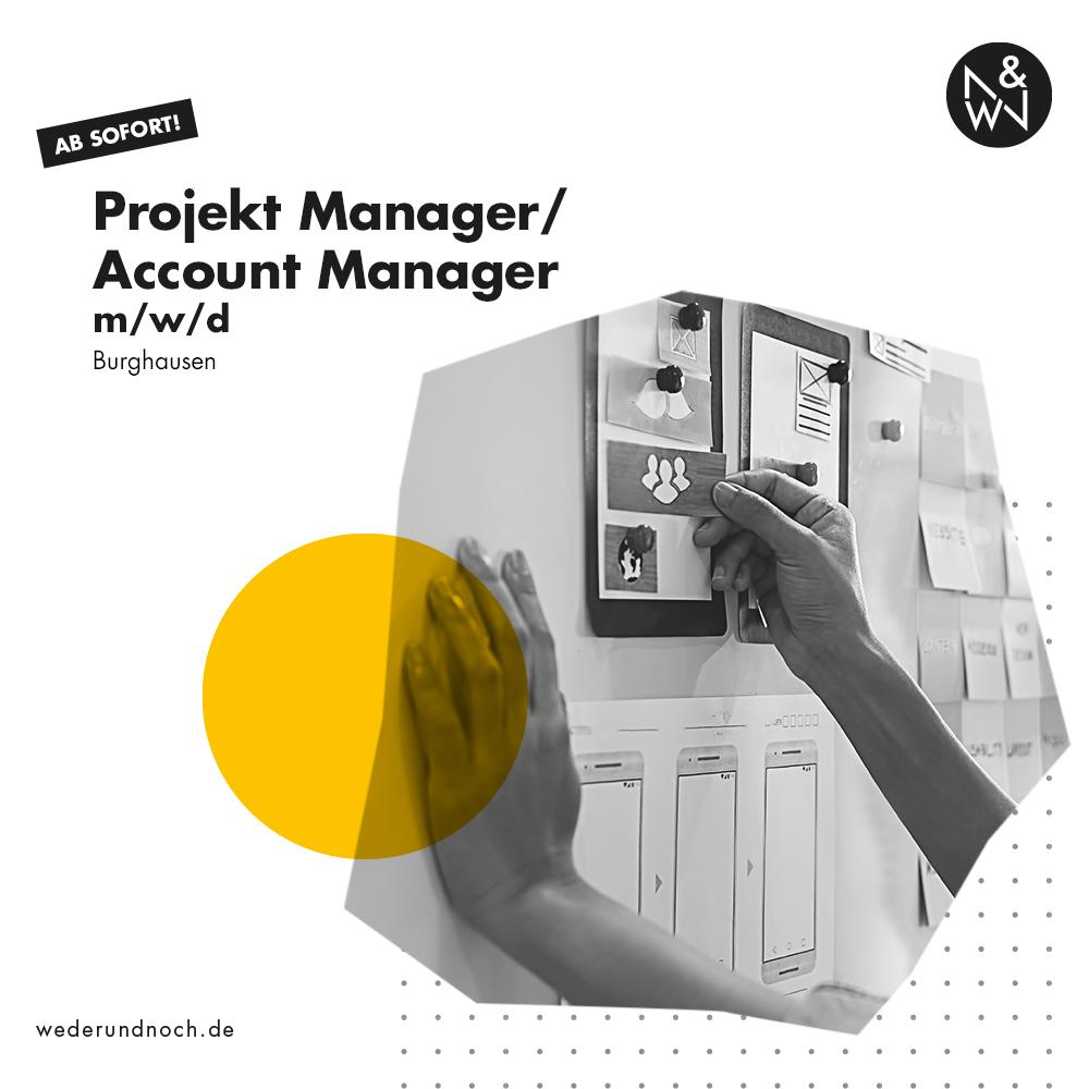 Projekt Manager Burghausen gesucht
