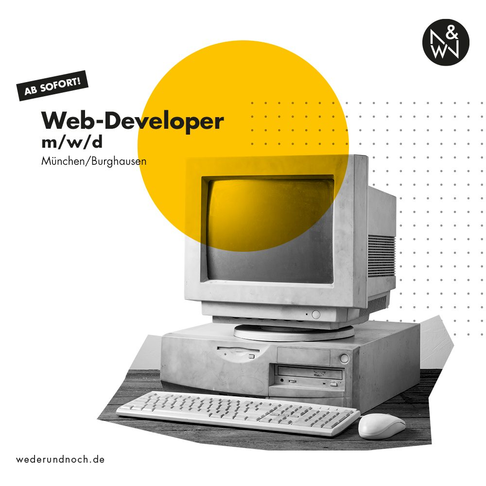 Web-Developer München oder Burghausen