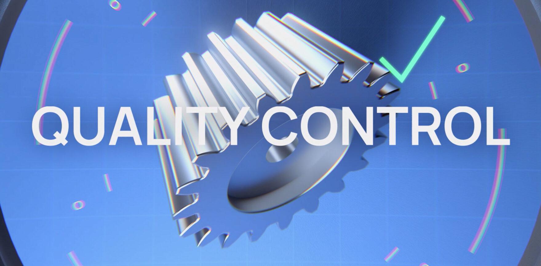Technomix Erklärvideo Quality Control
